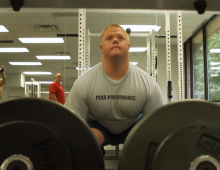 Born with Down syndrome, Del. man presses for gold