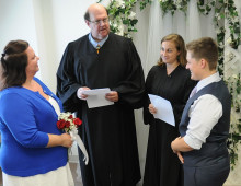 Anything Once: Marriage officiant